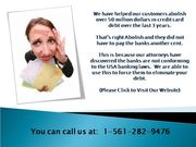 Want To Clean Your Card Balance? Call The Experts Now!